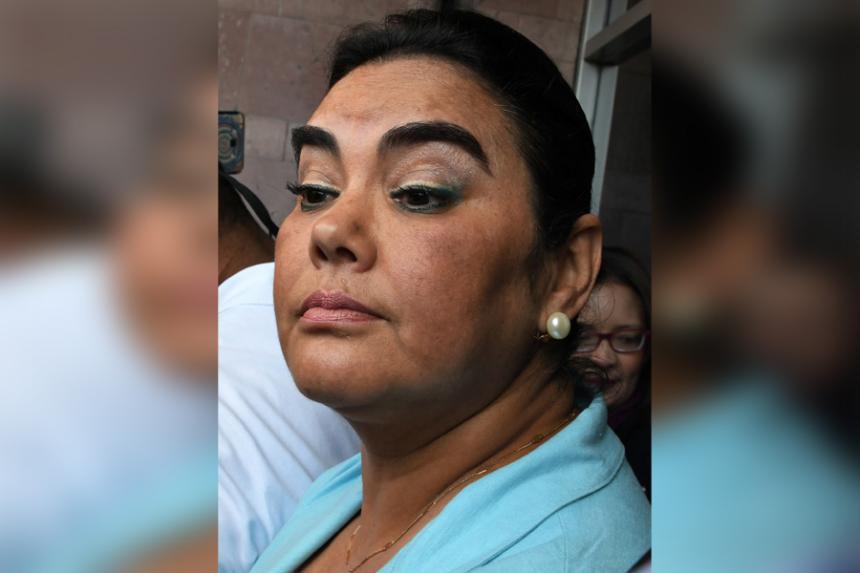 Capturan a exprimera dama Rosa Elena de Lobo — Honduras