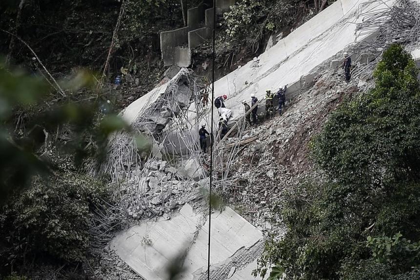 Fiscalía acude a expertos para investigar colapso de puente Chirajara