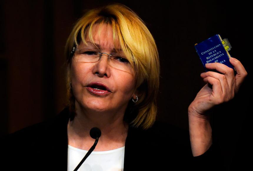 Venezuela tramita orden de captura internacional contra ex fiscal Luisa Ortega
