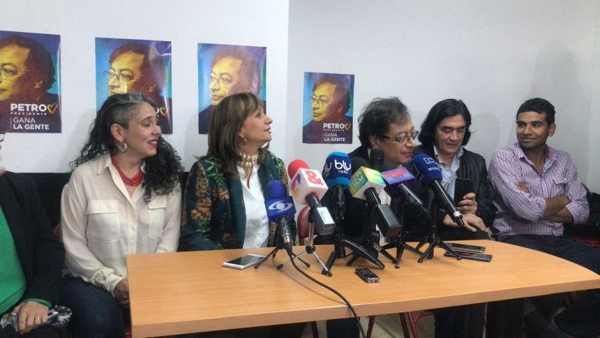 Gustavo Petro confirmó su fóruma vicepresidencial