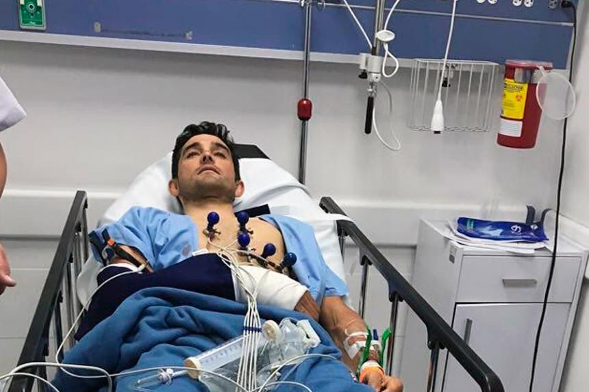 Óscar Sevilla, víctima de robo en Bogotá, le quitan su bicicleta