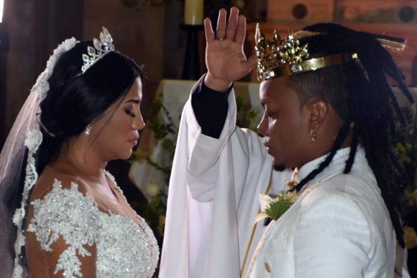 Matrimonio Mr Black : Mr black dio el sí en cartagena heraldo