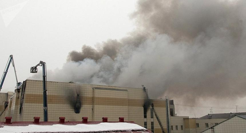 Incendio en un centro comercial en Rusia: al menos 37 muertos