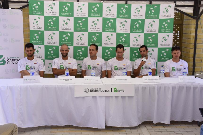 Giraldo-Monteiro abrirán serie Colombia-Brasil — Davis