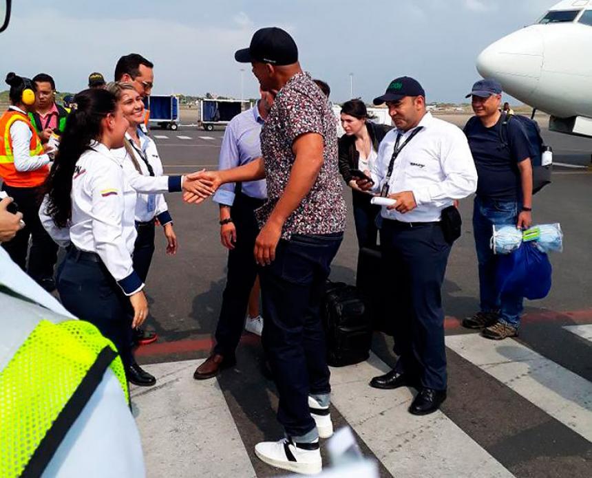 Will Smith ya está en Cartagena para grabar la película 'Gemini Man'