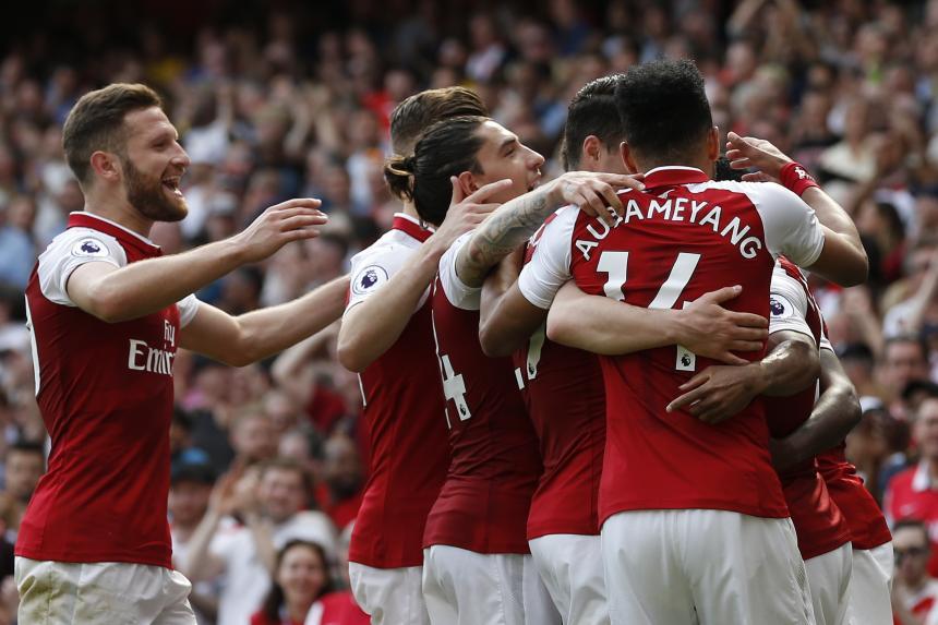 El Arsenal se divierte antes de recibir al Atlético (4-1)