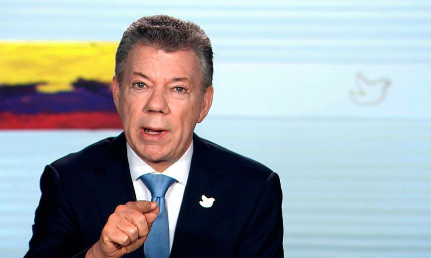 Presidente Santos pide cambiar enfoque mundial de la lucha antidrogas