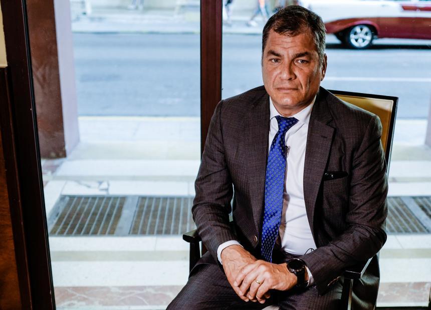 Ecuador: fiscalía investiga supuesto aporte de Farc a campaña de Correa