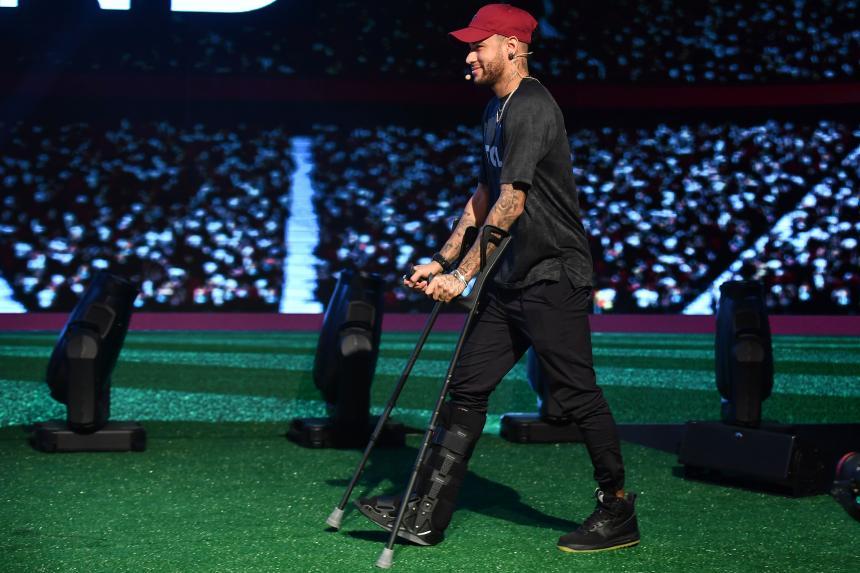 Que Neymar estará listo para jugar en Rusia 2018