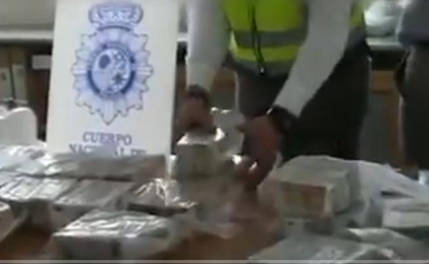 Cae en España un nuevo cargamento de cocaína colombiana