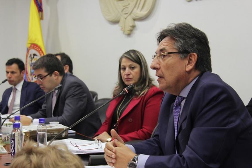 Romaña está sembrando maíz en La Julia (Meta), afirmó Fiscal General