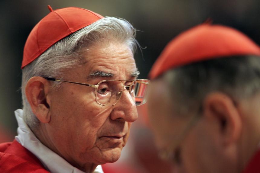 Falleció en Roma el cardenal colombiano Darío Castrillón Hoyos
