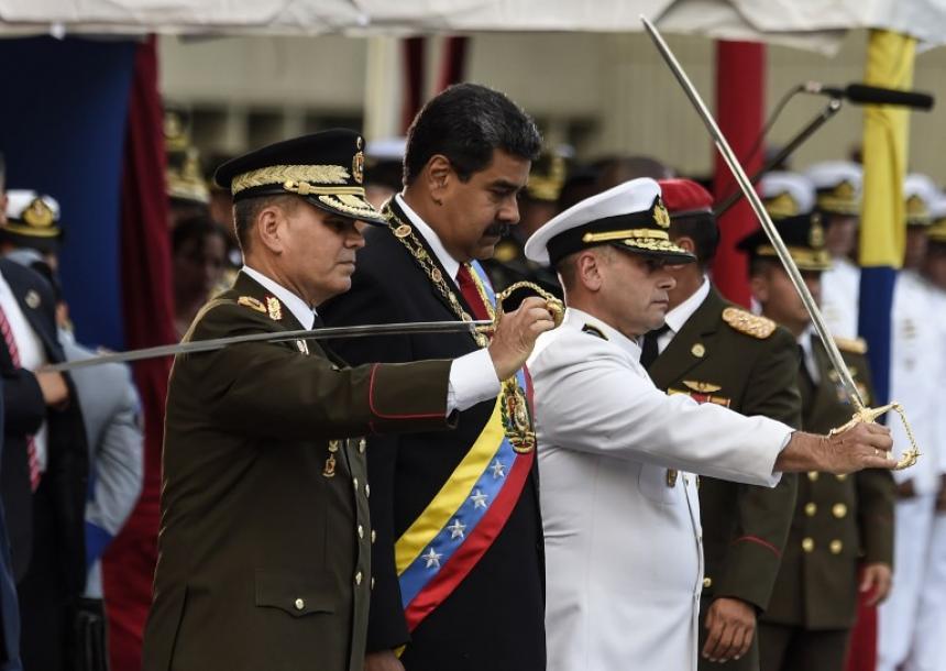 Maduro juró como presidente reelecto de Venezuela ante la oficialista Constituyente