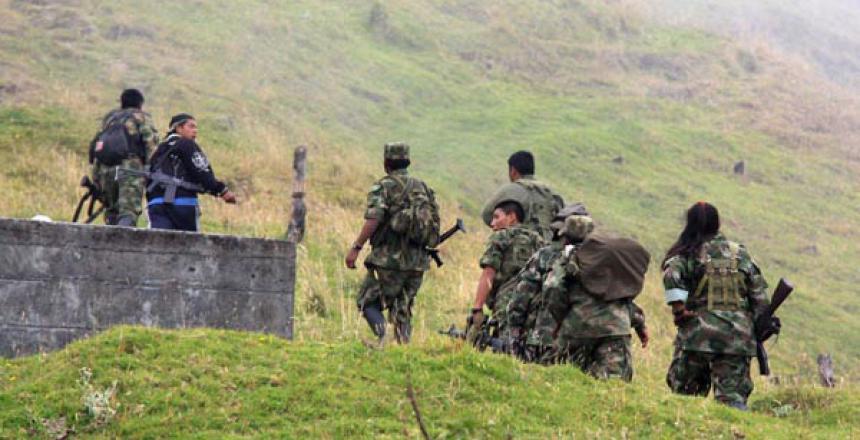 Mueren 11 disidentes de las Farc en combate con el Ejército