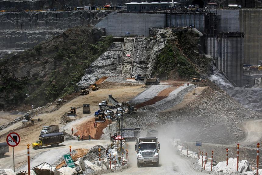 Nueva evacuación de trabajadores por movimientos de tierra — Hidroituango