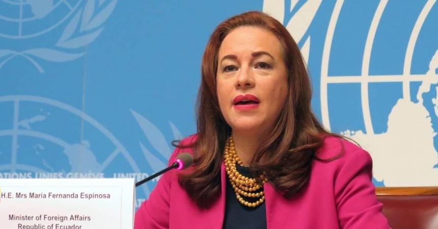 ONU: por primera vez una mujer latinoamericana presidirá la Asamblea General