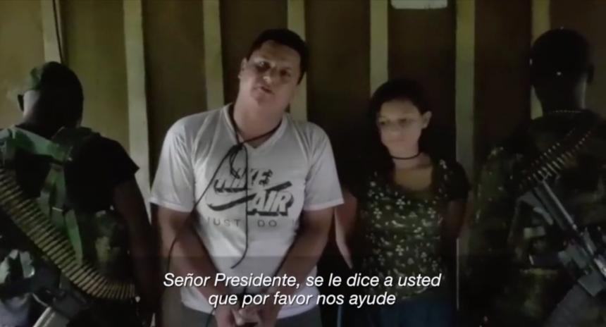 Familiares de Óscar y Katty llegaron a Colombia