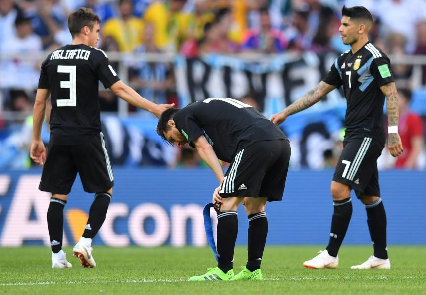 Resultado de imagen para argentina 1-1 islandia