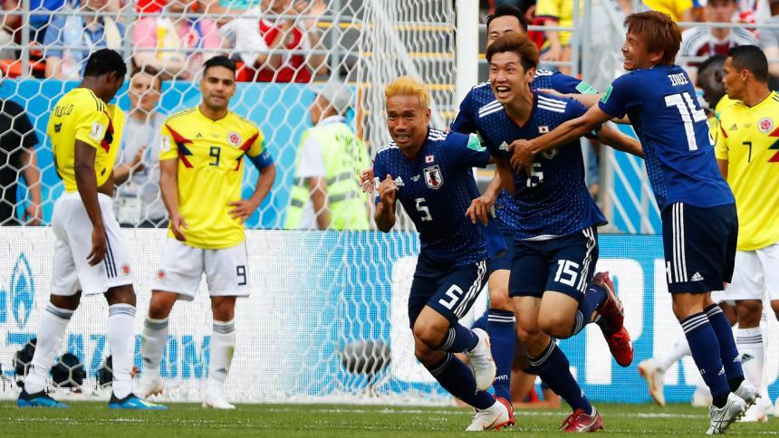 Colombia cayó 2 a 1 ante Japón en su debut por el grupo H