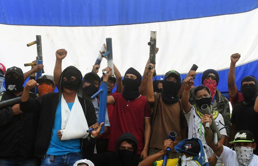 Ofensiva del gobierno en ciudad rebelde de Masaya dejó tres muertos — Nicaragua