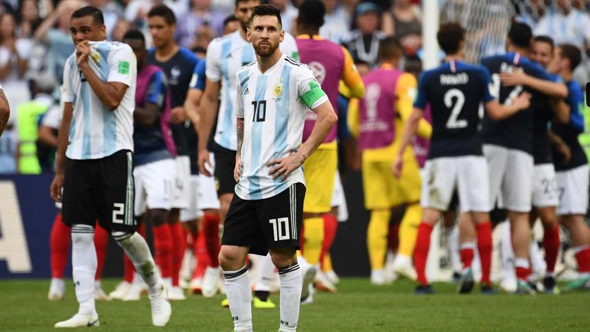 Francia vence a Argentina y va a Cuartos de Final