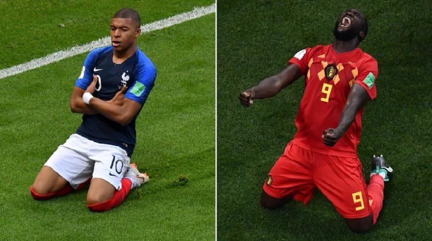 Francia venció a Bélgica y es el primer finalista de Rusia 2018