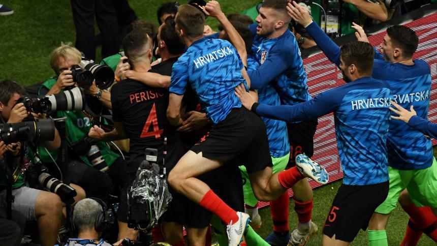 Mundial de Fútbol: Croacia jugará ante Inglaterra semifinales
