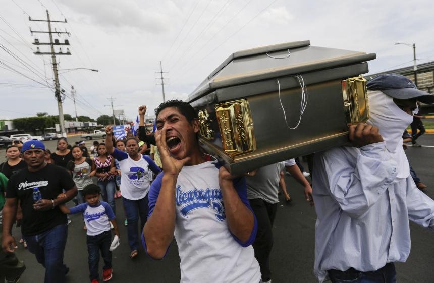 Violento ataque contra comunidad indígena de Masaya en Nicaragua