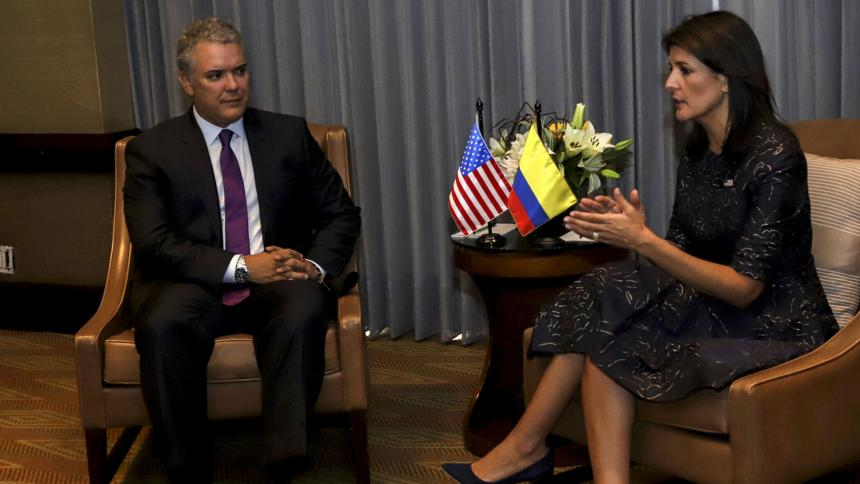 Embajadora de EE.UU. ante ONU visitará frontera entre Colombia y Venezuela
