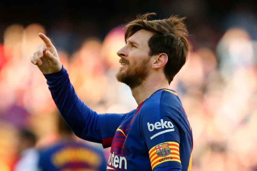 Messi, Busquets, Piqué y Sergi Roberto, los capitanes del Barça