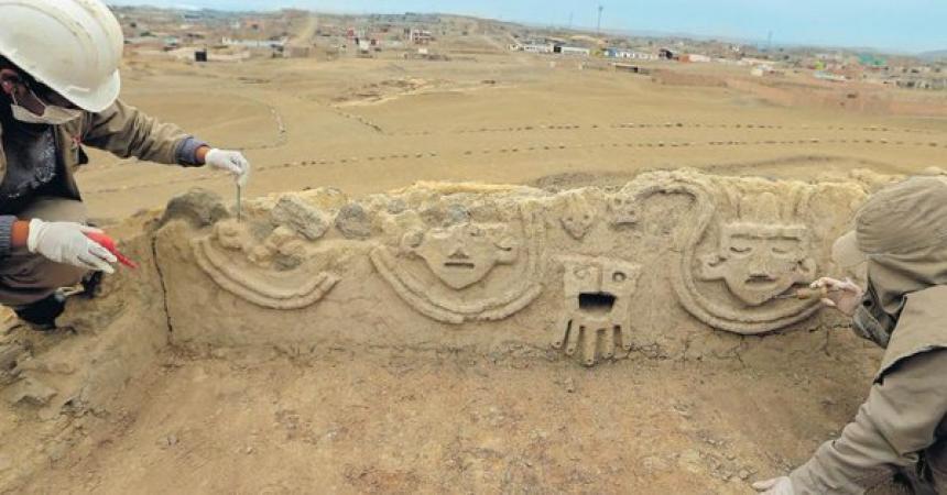 Perú: Hallan un muro de hace 3.800 años