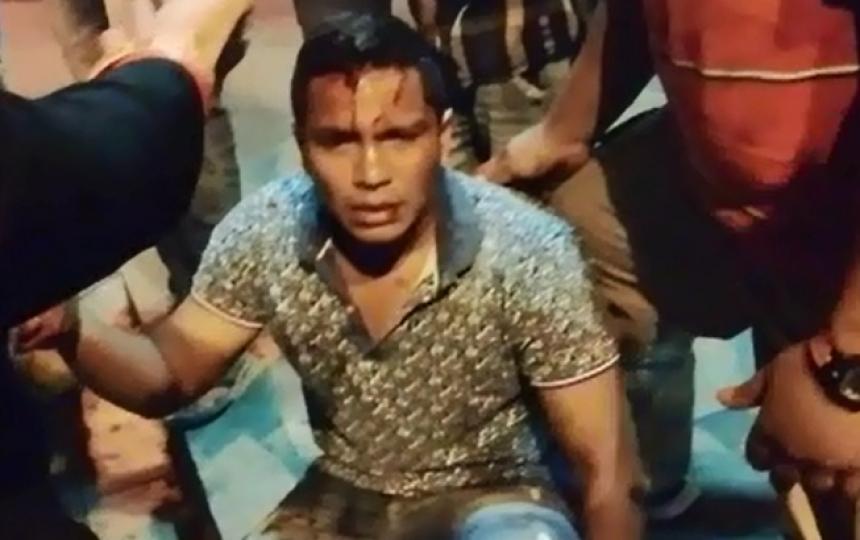 Imagen tomada de video
