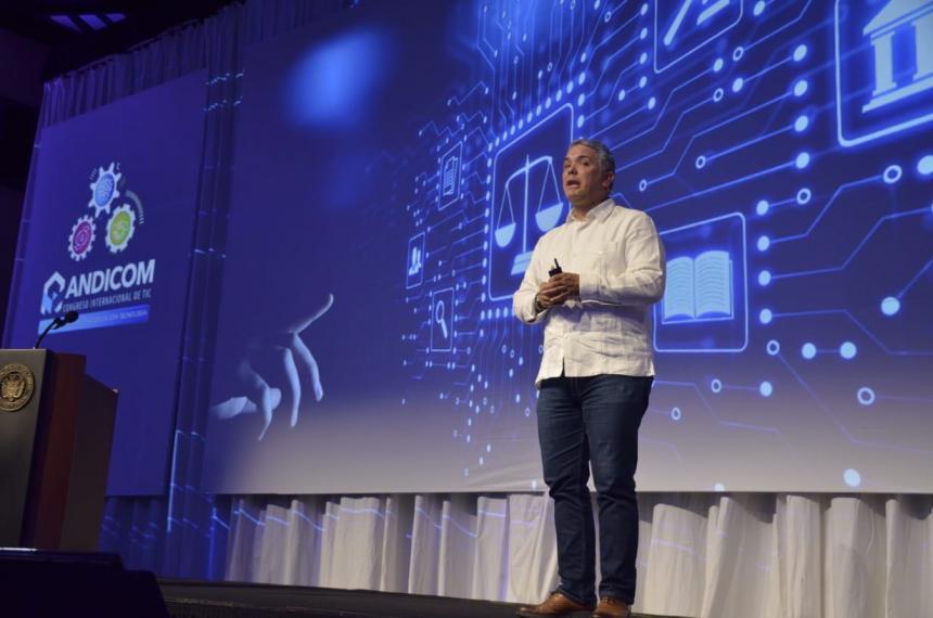 Medidas colombianas: Duque apunta a bajar la presión regulatoria a la tecnología