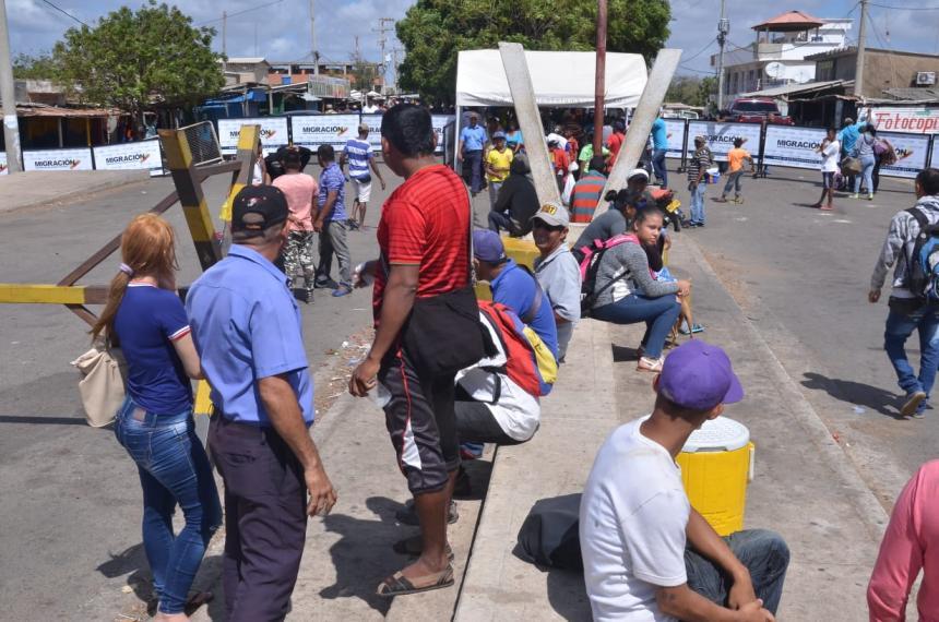 Colombia sufre de crisis migratoria en su frontera