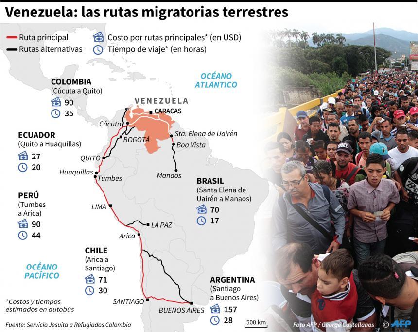 Latinoamérica pide a Maduro acepte ayuda humanitaria