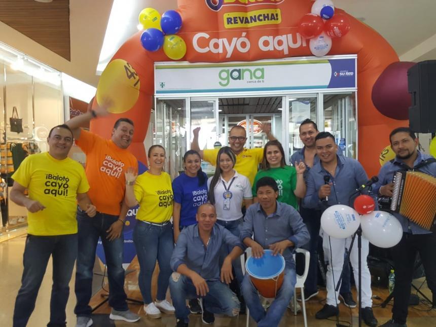 Baloto de 26.000 millones de pesos cae en Medellín