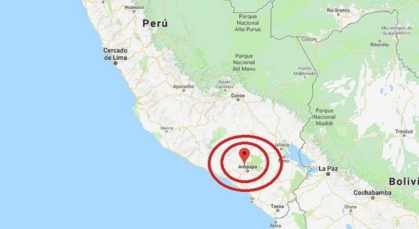 Sismo magnitud 5.5 sacude costa de Perú