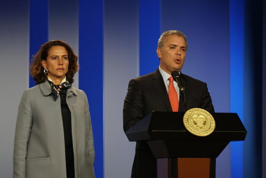 Presidente Duque radicó nuevo paquete anticorrupción con apoyo de partidos políticos