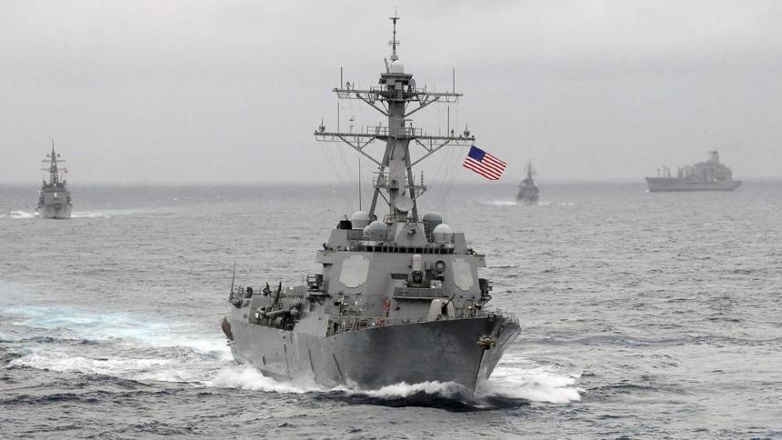 Gobierno chino condenan acción estadounidense en el mar del Sur de China