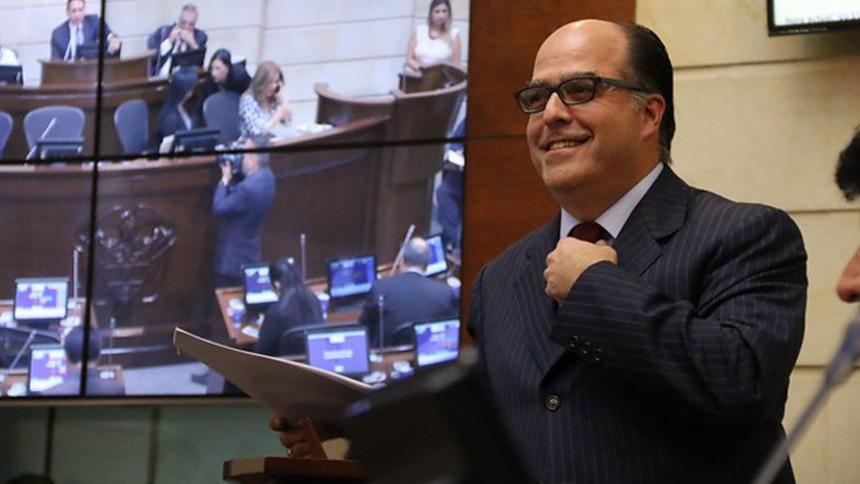 Colombia oficializó refugio a diputado venezolano Julio Borges