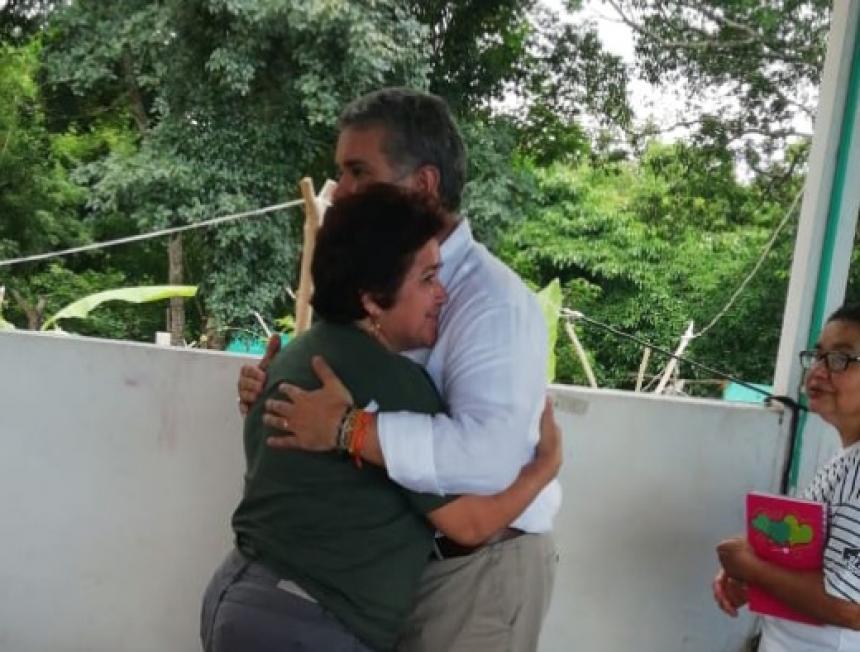 Pdte. Duque visita zona de reincorporación de exfarc en La Guajira
