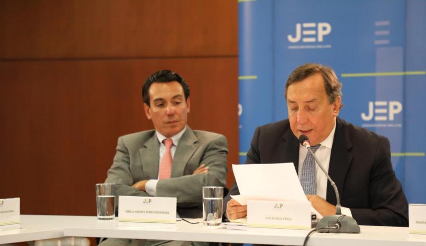 Políticos secuestrados por las Farc en la JEP — En Vivo