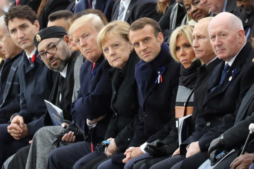 Francia: conmemoran el centenario del fin de la Primera Guerra Mundial - Mundo