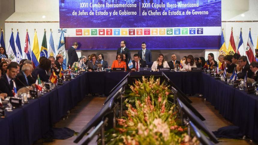 La Cumbre Iberoamericana servirá para fortalecer el diálogo político — Jorge Arreaza