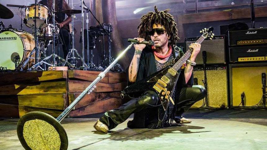 El músico estadounidense Lenny Kravitz estará en Colombia