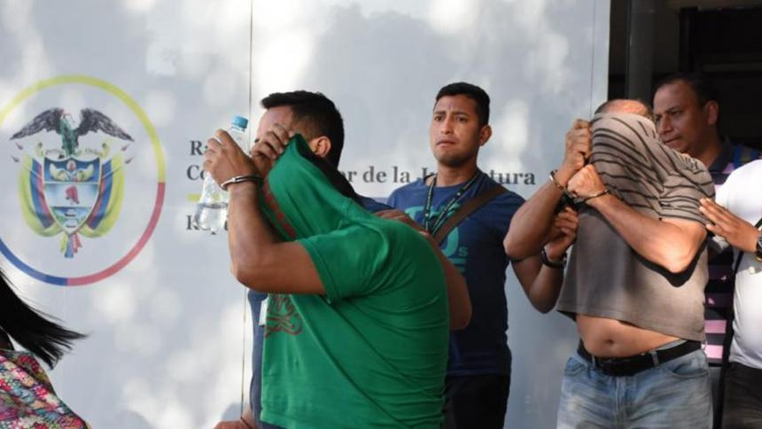 Capturan a 12 miembros de red de explotación sexual infantil en Colombia