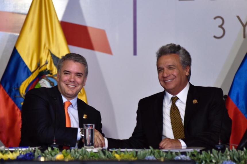Presidente de Colombia pide