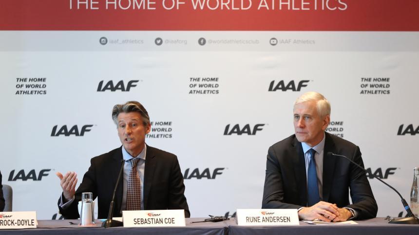 Caterine Ibargüen gana el premio a la Atleta del Año IAAF