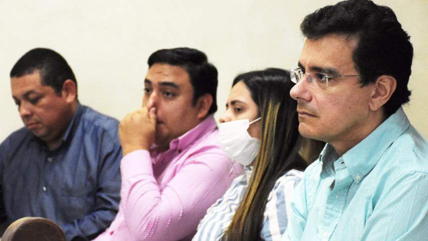 Joohny Olivares y Luis Felipe De la Hoz