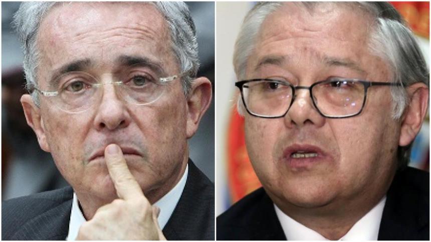 Uribe sugiere que magistrado Barceló quiere verlo en la cárcel